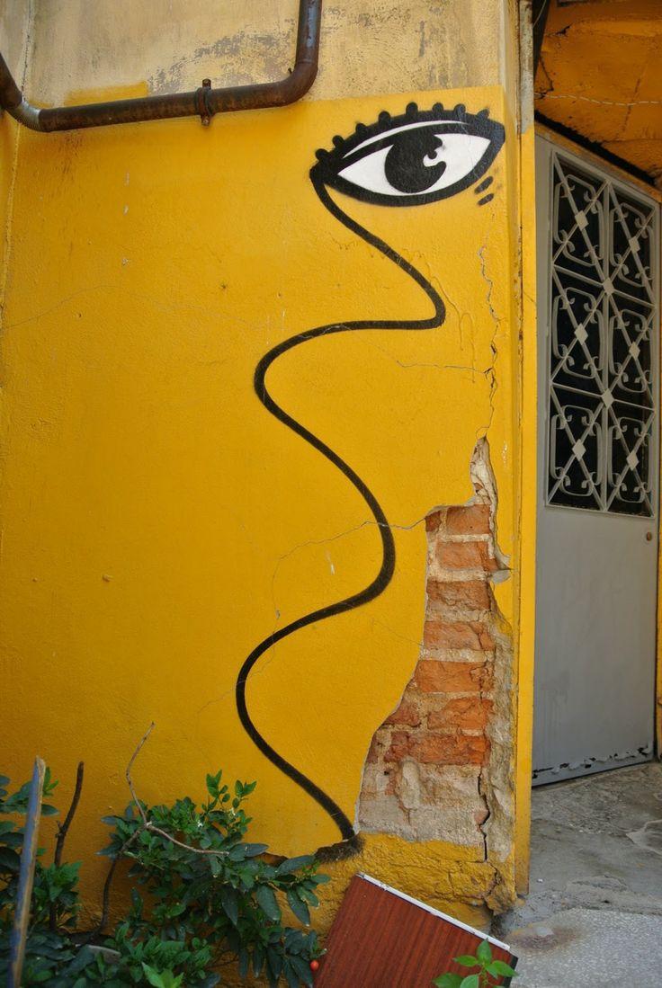 140 best Eyes Street Art images on Pinterest   Urban art, Street art ...
