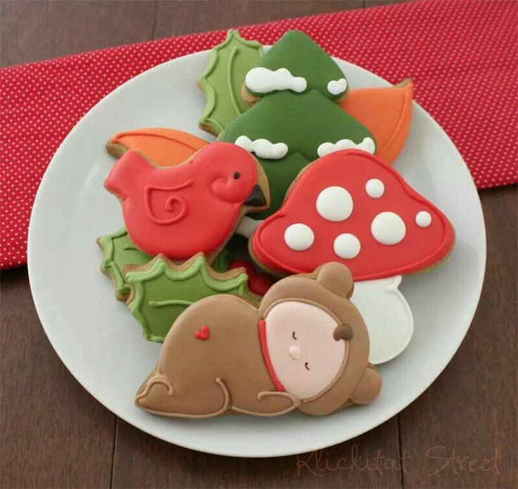 85 Best Images About Cookies Baby Woodland Creatures On
