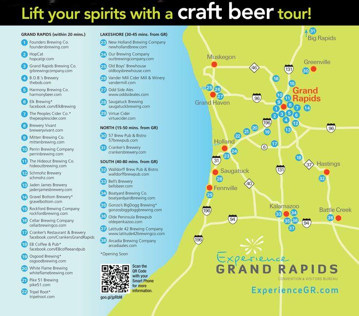 Grand Rapids Craft Beer Tour