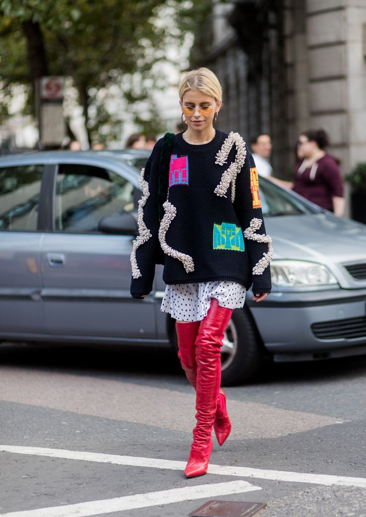 The Best Street Style From London Fashion Week Spring Summer 39 18 Mode