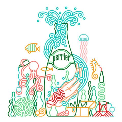 Carlos Arrojo - The Mushroom Company  - perrier