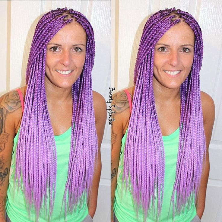best 25 purple box braids ideas on pinterest purple