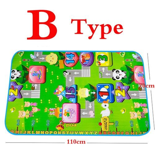 110*70cm Baby Play Mat Child Beach Mats Picnic Carpet Baby Crawling Mat Moisture Proof seat cushion Camping Mats Kids Play Rug