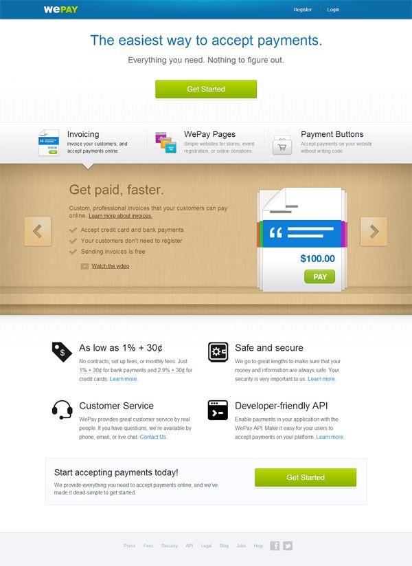 99 best Landing Pages images on Pinterest Content marketing - copy api blueprint accept header