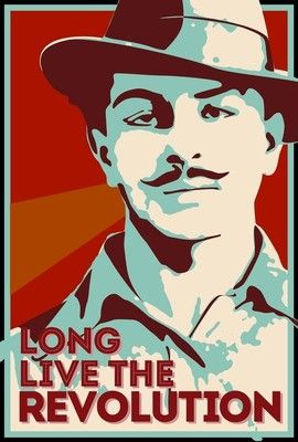 Long Live Revolution Bhagat Singh