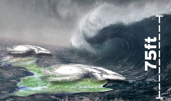 Shock weather warning: WORST Atlantic storm of the winter is now 'ROARING' towards Britain | Nature | News | Daily Express  FEB 2014