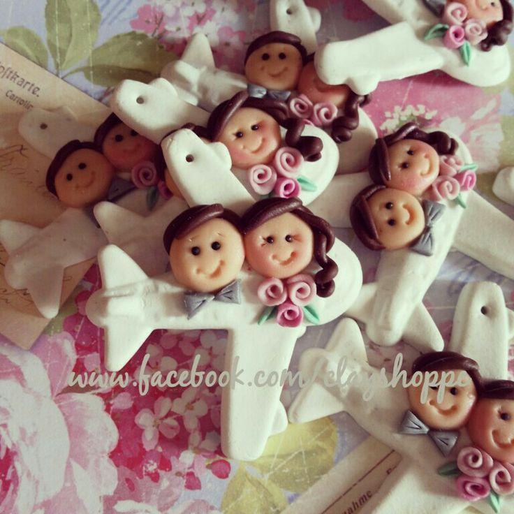 clay wedding souvenir