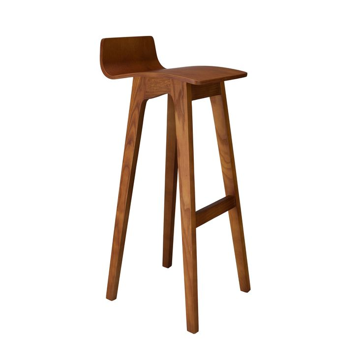 This sleek and natural stool radiates California mid-centrury modern cool. It's simple, yet elegant, and natural, yet industrial. We picture this stool in a coastal dream house or cozy woodsy cottage - and virtually everywhere in between that could use a dose of refined, laid-back style. California Modern Stool | dotandbo.com