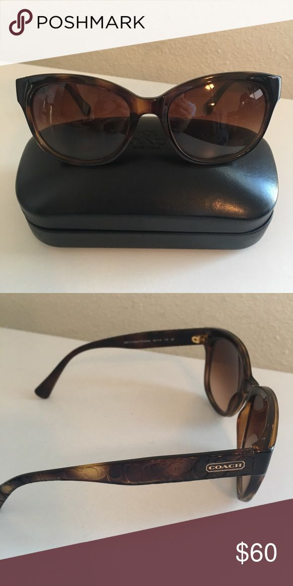 Coach Women's Sunglasses Coach Women's Sunglasses - Tortoise Color. In great condition! Comes with Coach sunglasses case & cloth. Coach Accessories Glasses