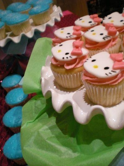 hello kity cupcakes