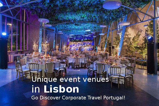 Original venues for events in Lisbon - Go Discover Portugal travel