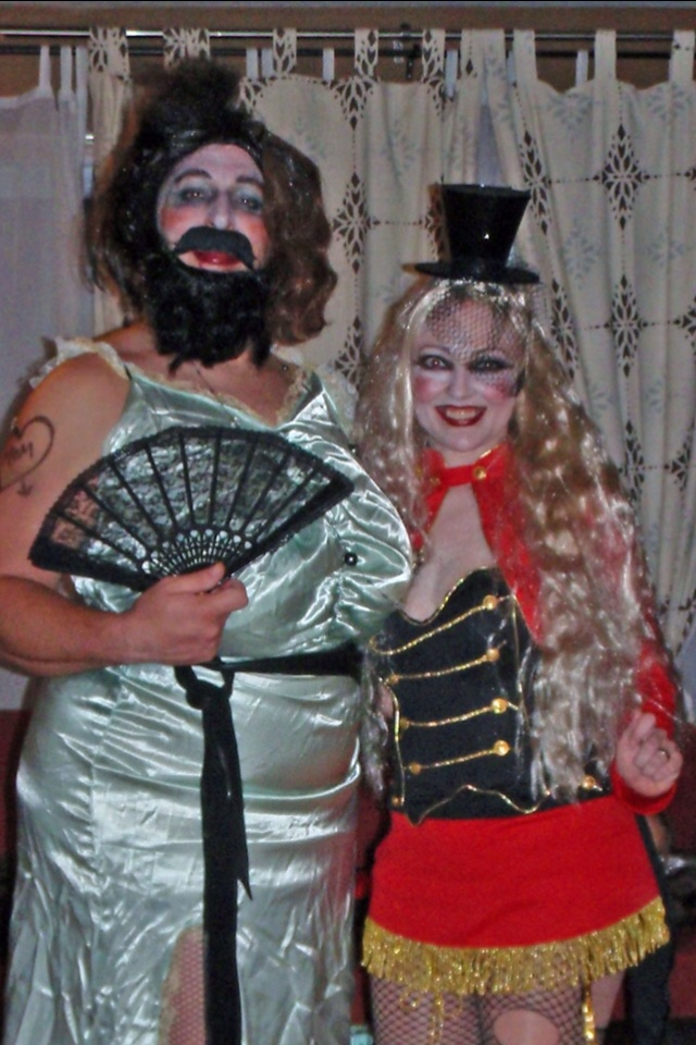 Brandy and Vlad Halloween 2013 - Circus Sideshow: The ...