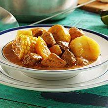 Sancocho de Colombiano is Fredy's Favorite! Healthy & delicious. Add avacado and cilantro as garnish.