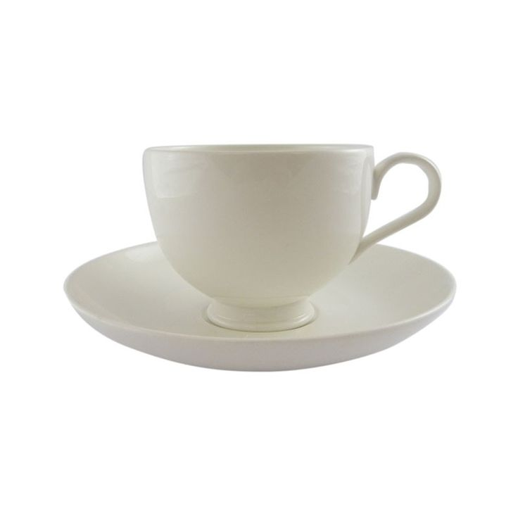 Verona Tea Cup and Saucer - This dining range can be accompanied by either the contemporary cutlery ranges such as the Mercury, Monteverdi and Mascagni designs but equally works well with the EPNS Jesmond or Kings traditional ranges. This range is stocked at our London depot and is available at other locations with advance notification. The Vina or Karisma glassware look divine with this fine elegant range of bone china.