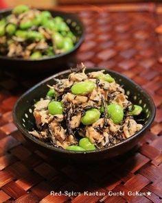 簡単☆枝豆とひじきとツナのマヨサラダ☆ もっと見る