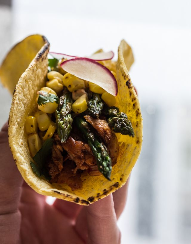 Spring Veggie Tacos — The Whole Bite