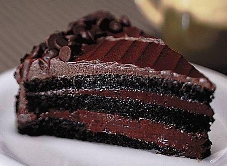 Aprenda a fazer Receita de Bolo de chocolate mousse, Saiba como fazer a Receita de Bolo de chocolate mousse, Show de Receitas