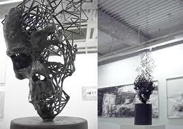 lovely skull art