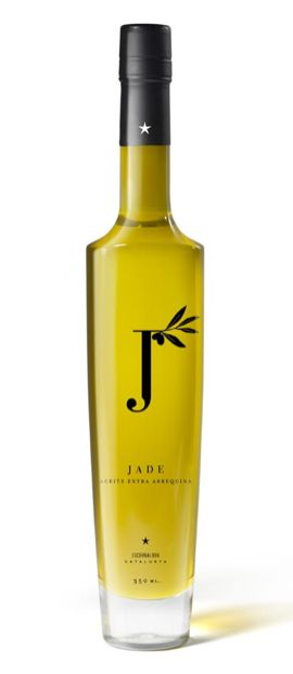 jade Olive Oil. The word mark design is looking a touch forced here but overall a nice package.
