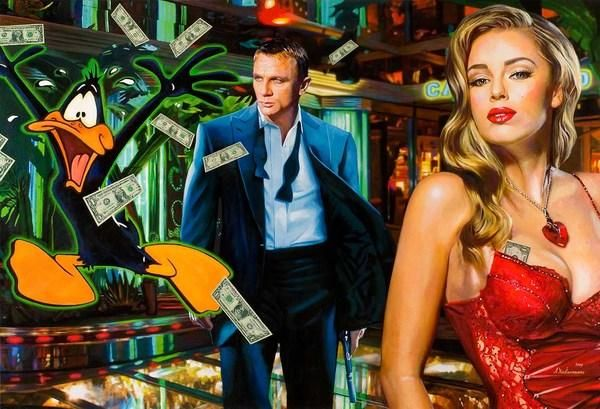 Casino Royale - Bold and Beautiful Paintings by Tos Kostermans: Casino Royale600 409, Oil Paintings, Casino Royals, Beautiful Paintings, Realistic Paintings, Kosterman Casino, Tos Kostermanscasino, Artists Tos, Kostermanscasino Royale007