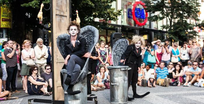 Pouliční divadlo oživí centrum Plzně, začíná první blok Živé ulice