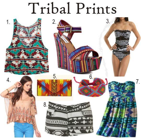 Tribal Print Clothing