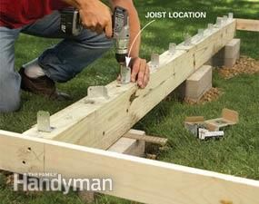 Backyard Decks: Build an Island Deck | The Family Handyman