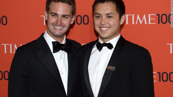 SnapChat founders make Forbes list of billionaires -  Evan Spiegel, 25 (the youngest billionaire), and astro #snake born 27 Aug 1989 Bobby Murphy made Forbes 2015 list of the 400 richest Americans, which was released Tuesday. http://money.cnn.com/2015/09/30/news/forbes-billionaire-list-snapchat-founders/ http://www.forbes.com/profile/bobby-murphy/?list=billionaires