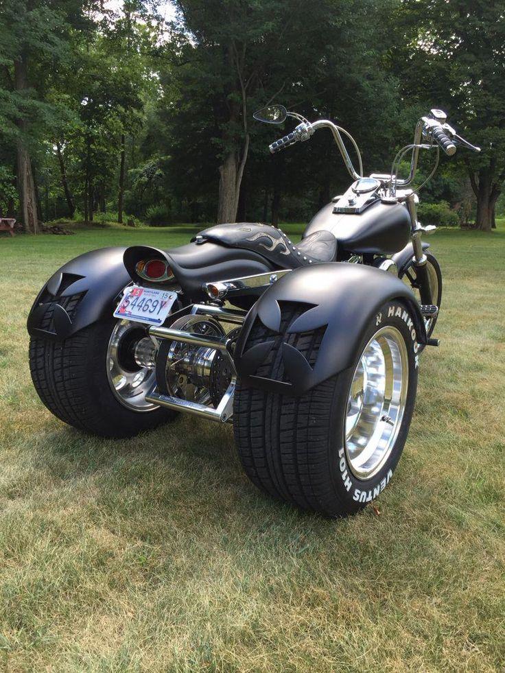 Pin by Robert Craft on trike Trike motorcycle, Harley