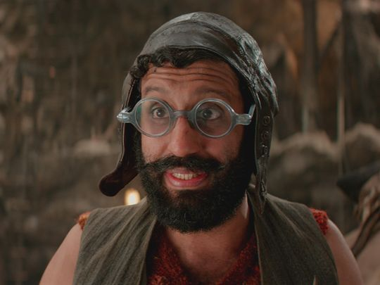 "Adeel Akhtar stars as Sam Smiegel in ""Pan"" — though"