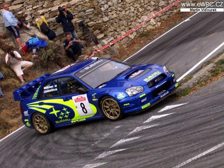 San Remo 2003 - Mäkinen Tommi - Lindström KajiconSubaru Impreza S9 WRC '03