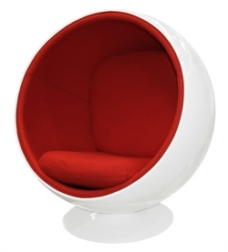 Eero Aarnio Ball Chair - kids reading chair