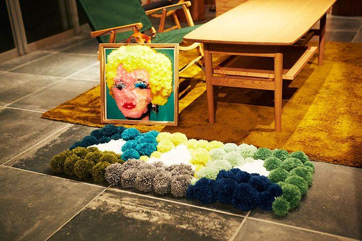DIYer(s)×haconiwa共同企画 毛糸で作るポンポンアートをDIY
