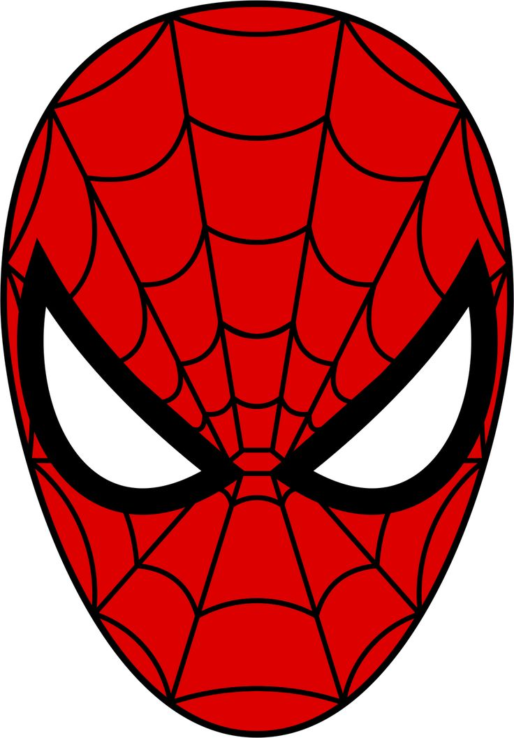 Spider Man Mask From Cardboard Templates - NextInvitation Templates
