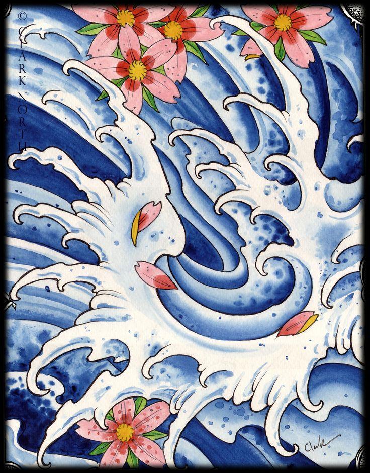 japanese flower tattoos | TATTOO ART – Clark North Tattoo