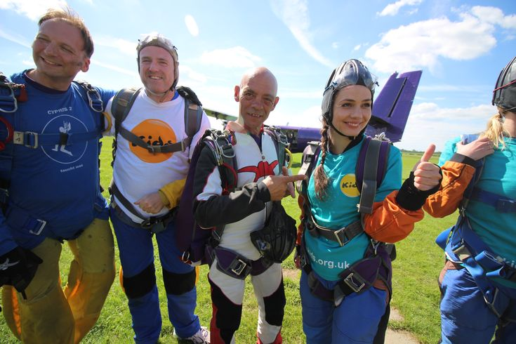 ✔️Raise money for charity! - my second skydive jump. June 2017