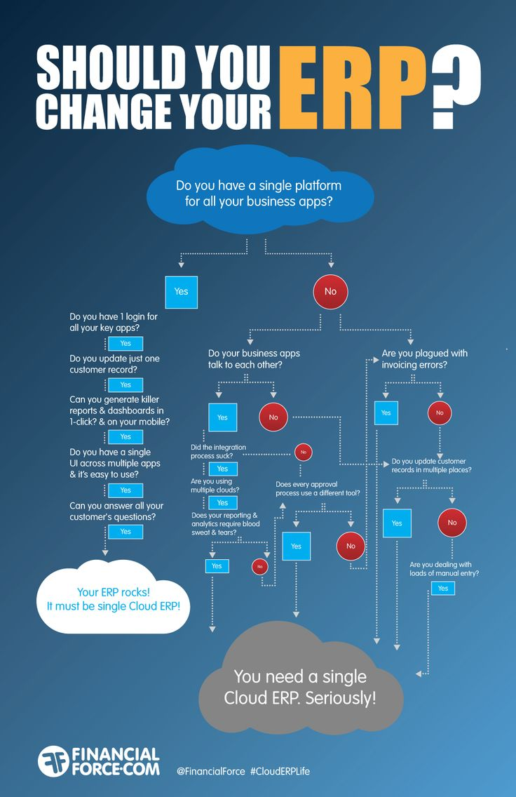 Should You Change Your Erp Infographic Education