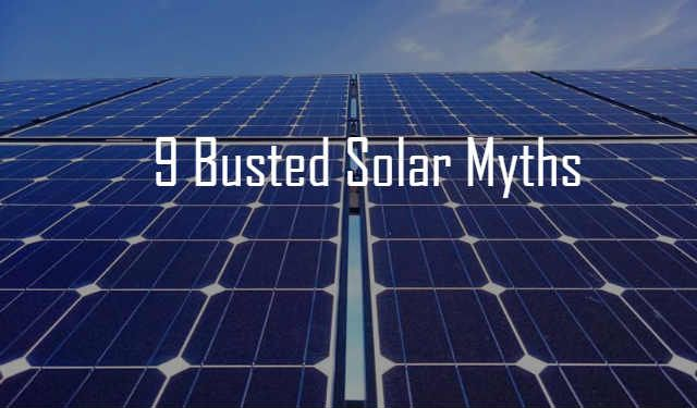 We Tell The Truth Behind These Common Solar Power Myths Including Solar Intermittency Batteries Emissions Snow Coverage And E Solar Myths Roof Solar Panel