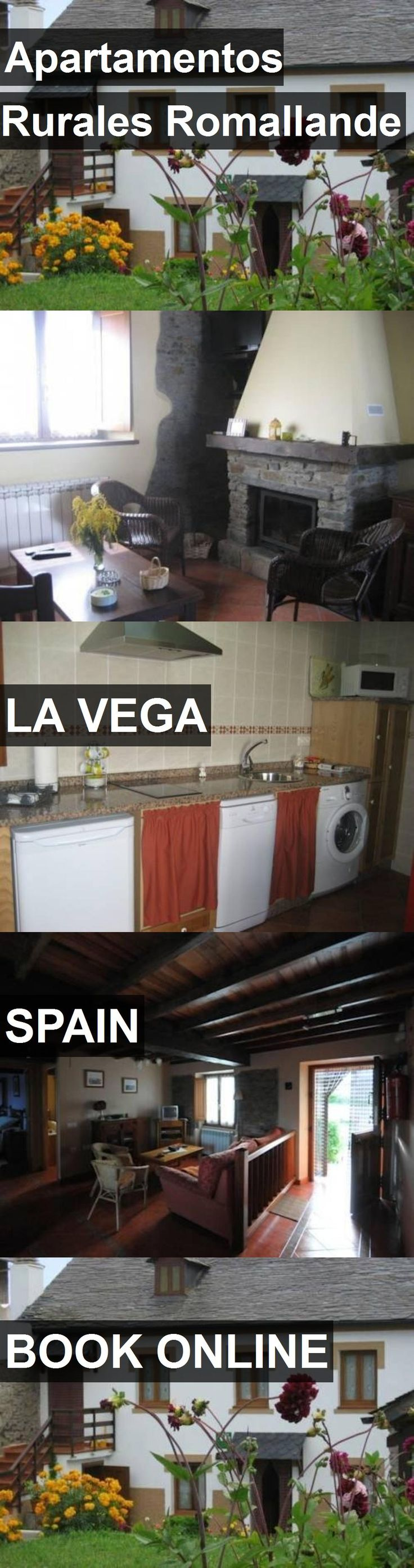 Hotel Apartamentos Rurales Romallande in La Vega, Spain. For more information, photos, reviews and best prices please follow the link. #Spain #LaVega #travel #vacation #hotel