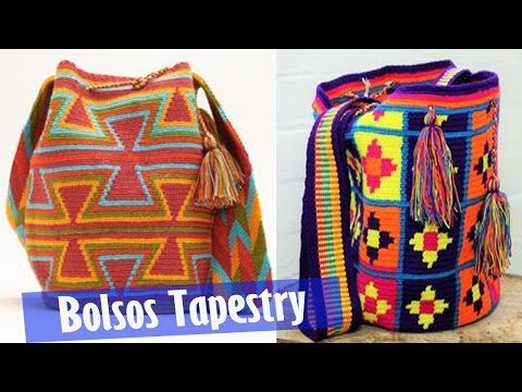 Tutoria Bolso tipo Wayuu paso a paso - YouTube