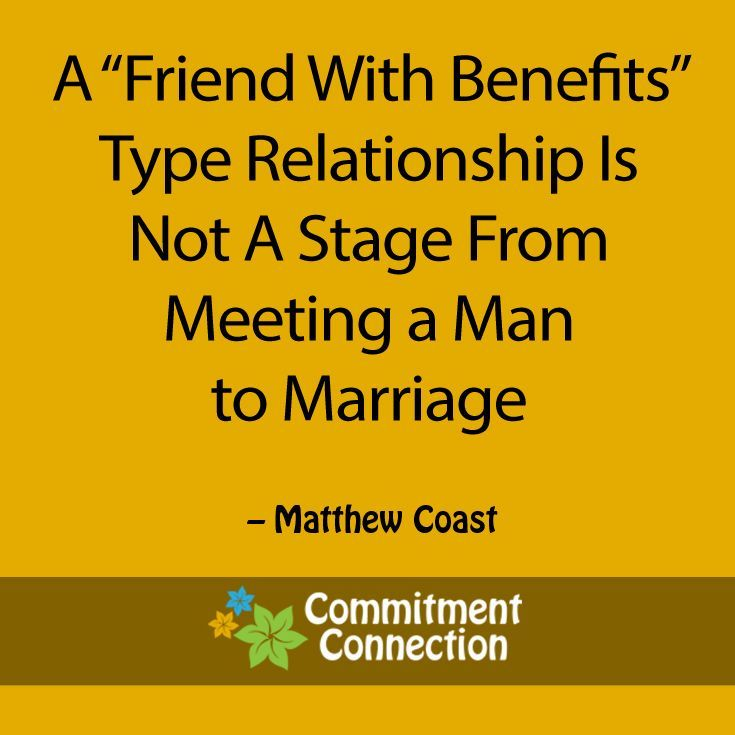 friends with benefits vs dating