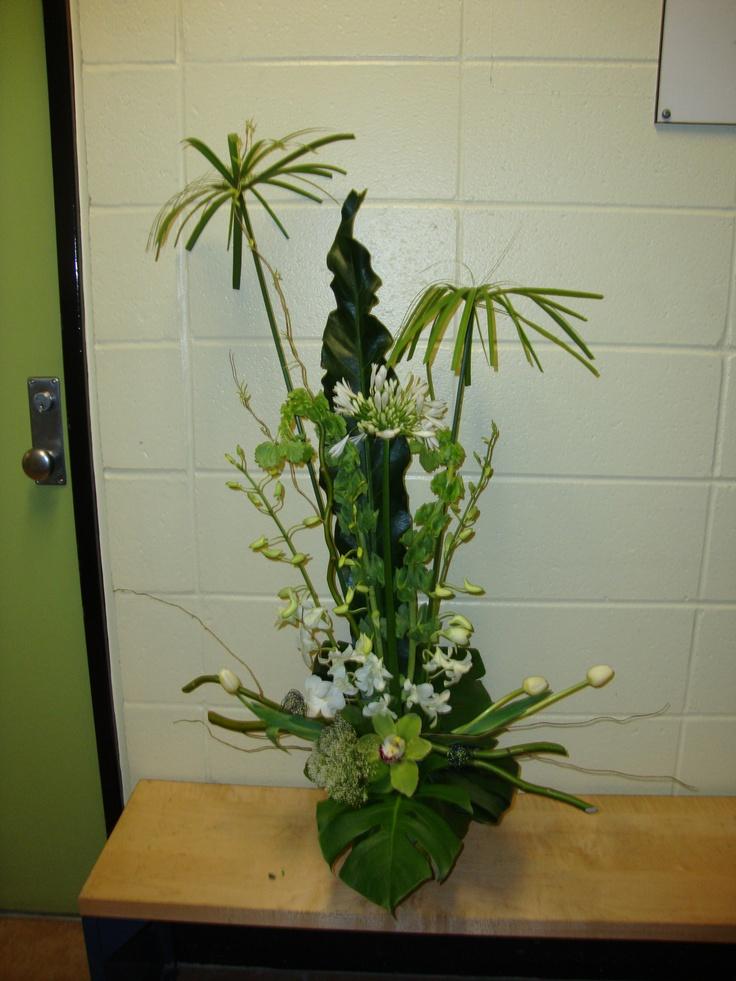 fleurs blanches et vertes fleurs et plantes pinterest. Black Bedroom Furniture Sets. Home Design Ideas