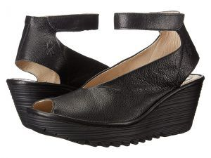 FLY LONDON Yala (Black Mousse) Women's Shoes