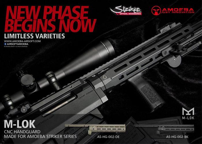Amoeba Striker S1 M-Lok Handguard | Striker S1 | Hand guns