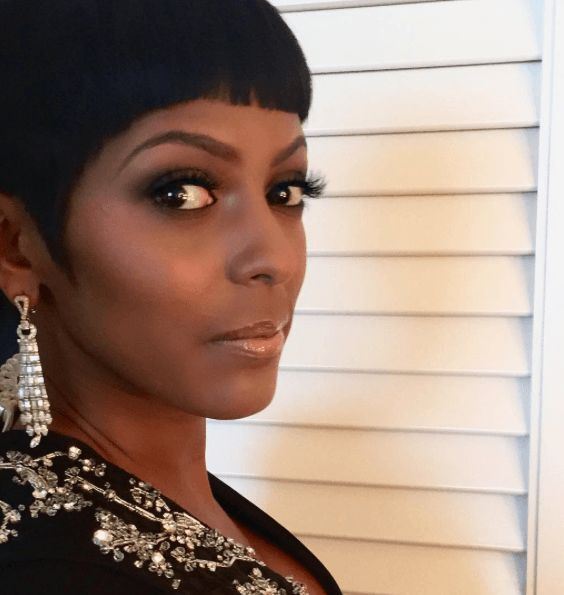 Get The Look: Tamron Alexander's Short Tapered Cut