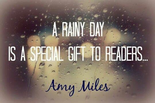 En regnig dag är en gåva för den med en oläst bok hemma ››› Danje Förlag #DanjeNovell www.danje.se