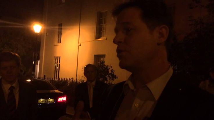 Confronting Deputy Prime Minister Nick Clegg about the family law system...