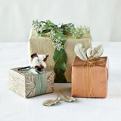 I love the uniqueness of local accents in this wrapping. Wonderfully personal and thoughtful.