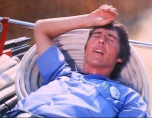 Randolph Mantooth as John Gage - On engine in Snakebite episode