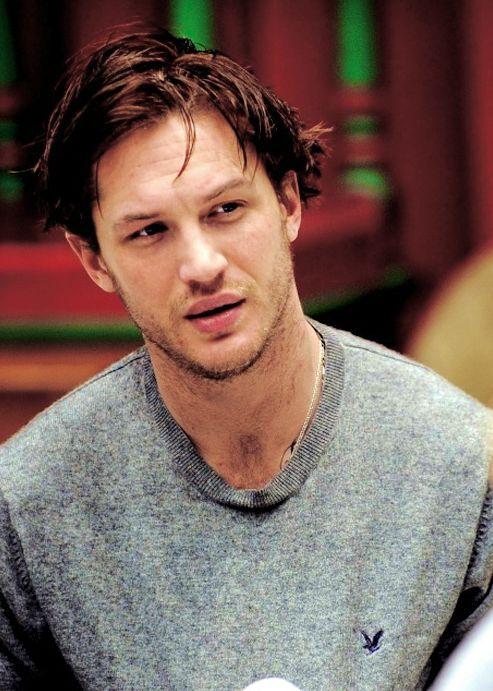 , tom hardy...good hair